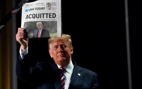 Donald Trump was acquitted in a Senate trial in February 2020, and the likelihood is high that the Senate will reach the same result in its trial of the former US president that is set to begin on February 9, 2021