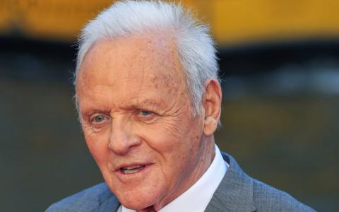 El actor estadounidense Anthony Hopkins.